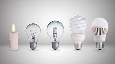 Strom sparen: Evolution des Lichts