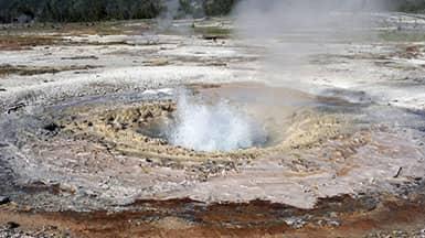 Erneuerbare Energie - Geothermie-Erdwärme: Geysir