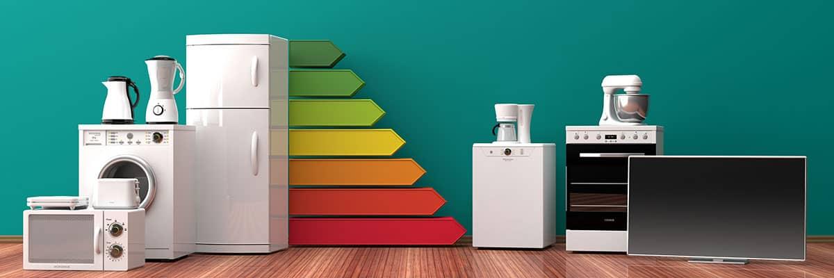 Strom sparen: effiziente Haushaltsgeräte mit Energielabel