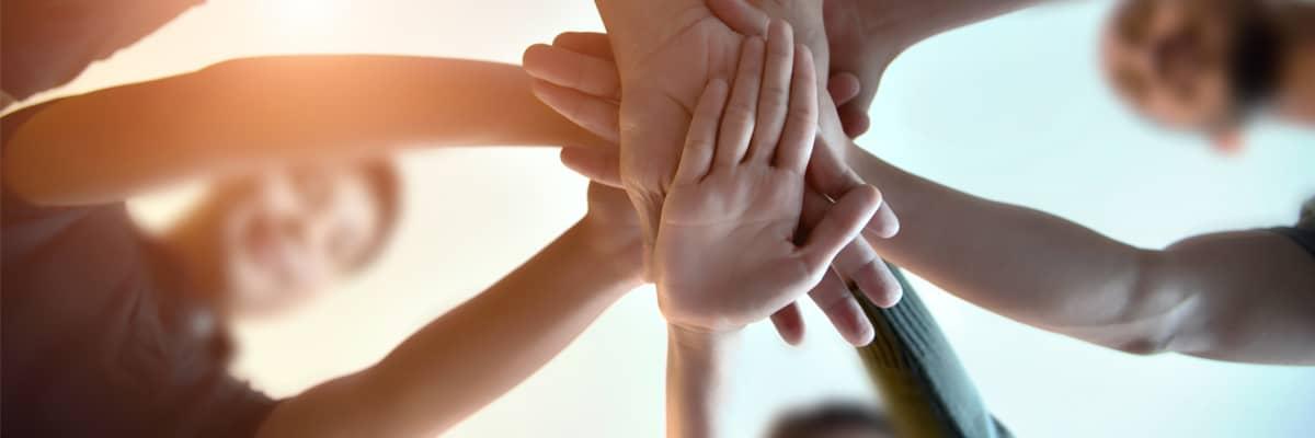 Menschen Hände