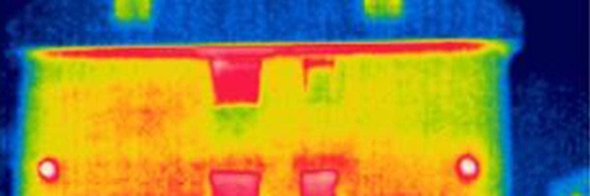 Sanieren: Thermografie von Fenster