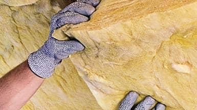 Sanieren: Dämmstoff Mineralwolle