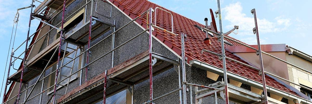 Sanieren: Fassade dämmen