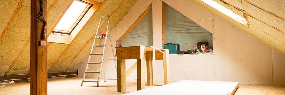 Sanierung eines Dachbodens