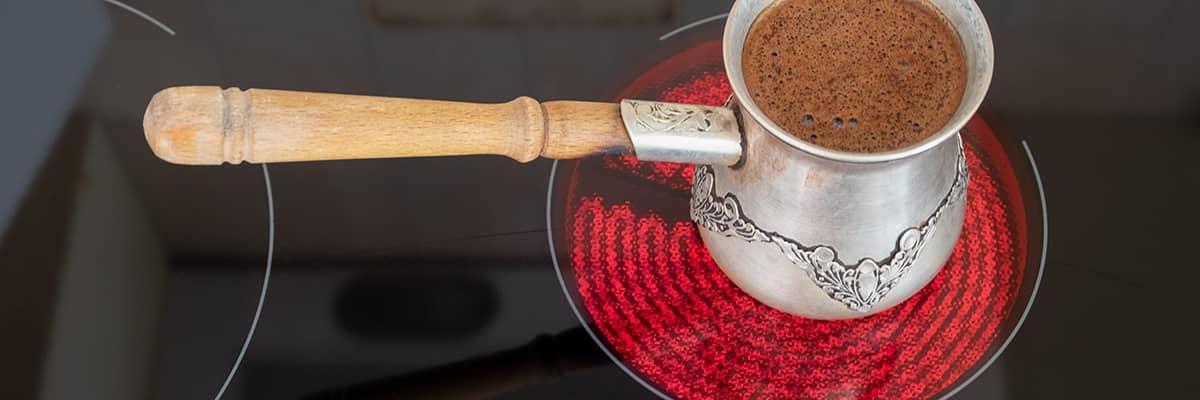 Kochplatte Espresso
