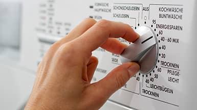 Spülmaschine, Waschmaschine und Trockner